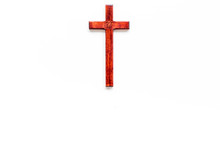 Funeral Concept. Wooden Cross ...