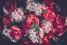 Artificial Roses Flower Bouque...