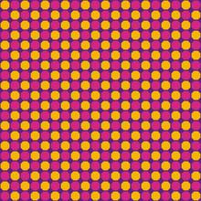 Pink, Purple And Orange Geometric Pattern Background