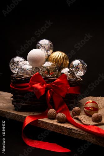 Fényképezés  Świąteczne ozdoby choinkowe