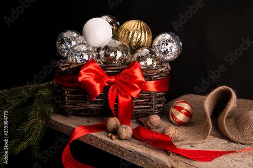 Przygotowania do Świąt Bożego Narodzenia Slika na platnu