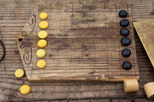 A Roman Board Game With Glass ...