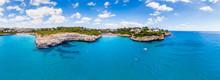 Aerial View, Spain, Balearic I...