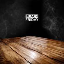 Desk Of Free Space For Your Decoration And Black Friday Time.