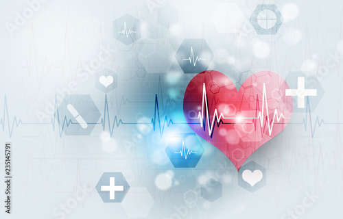 Technology Medical Illustration Canvas Print