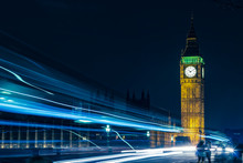 London Big Ben At Night Light ...