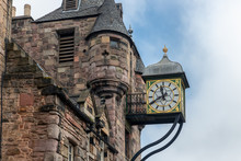 Canongate Tolbooth With Clock ...