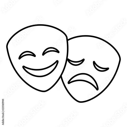 Fotografija  Theater faces design