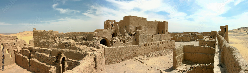 Photo  Old fortress close to Aswan