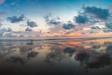 Sunset On The Beach Of Matapal...