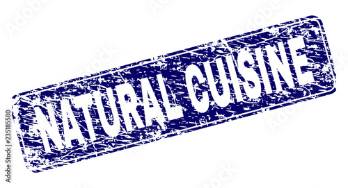 NATURAL CUISINE stamp seal ...