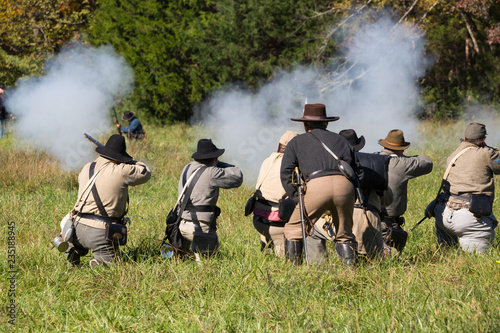 Foto American Civil War Reenactment