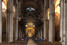 Santiago De Compostela, Spain,...