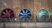 Cooling Fans In A Industrial Facility