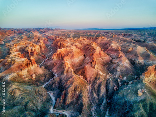 Fotografija  Charyn Canyon in South East Kazakhstan, taken in August 2018taken in hdr taken i
