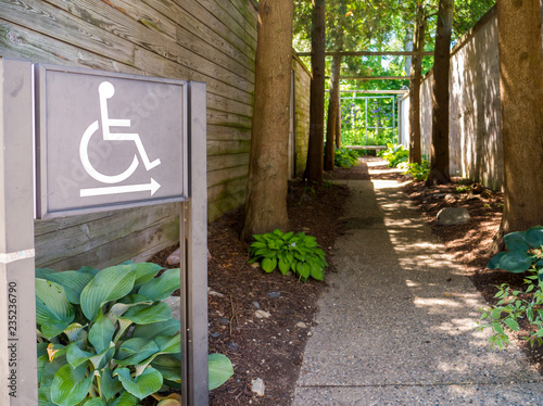 ADA Compliance Signs Accessible Handicap Park Poster Mural XXL