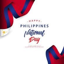 Happy Philippines National Day Vector Template Design Illustration