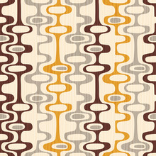 Seamless Abstract Mid Century ...