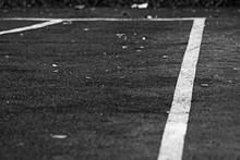Monochrome Sports Markings On ...