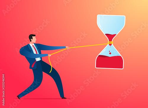 Fotografie, Obraz  stop the timer