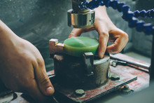 Greenstone Industrial Jewelery