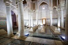 Saadian Tombs, Marrakech, Maro...