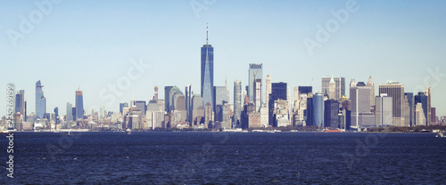 Poster New York City Baie de Manhattan