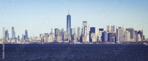 Deurstickers New York City Baie de Manhattan