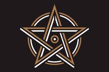 Pentagram Sign - Five-pointed ...