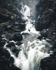 Obraz na Szklemały wodospad