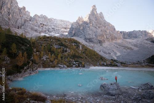 Fotografie, Obraz  Lago di Sorapis (3)