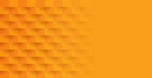 Orange Abstract Background Vector With Blank Space For Text.