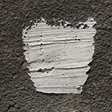 fragment of concrete wall with putty. can be used as mock up for your text