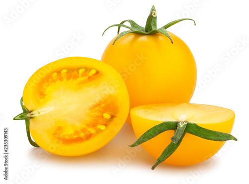 yellow cherry tomato