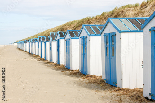 Beachhouses, Isle of Texel, the Netherlands