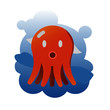 octopus cute cartoon