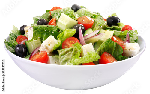 GREEK SALAD,CUT OUT Slika na platnu