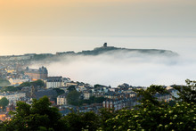Scarborough Castle In The Mist
