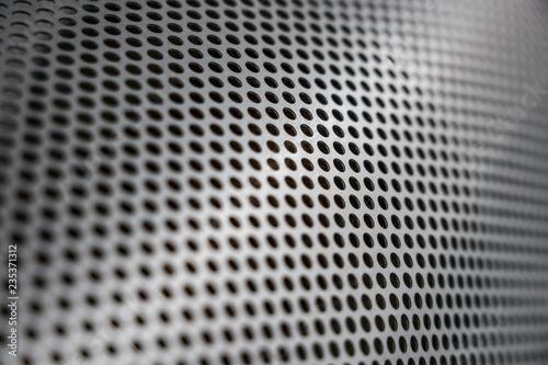 Valokuvatapetti Perforated steel metal sheet