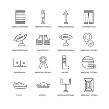 16 Linear Icons Related To Sho...