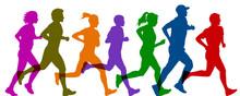Group Sportsman Run - Vector