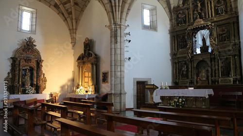 Iglesia de Nuestra Señora del Azogue en Puebla de Sanabria, Zamora, España