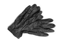 Medical Gloves On White Backgr...