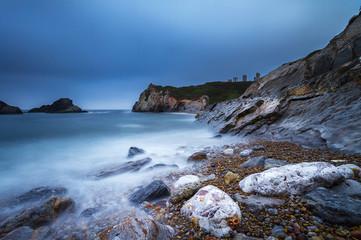 Horn Beach, Salinas Asturias north of Spain