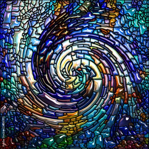 The Escape of Spiral Color