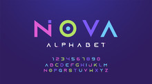 Colorful Letters And Numbers F...