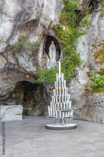 Photo  Grotte de Lourdes
