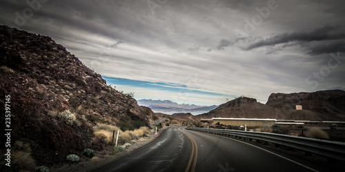 Fotografie, Obraz  views at lake mead nevada near hoover dam
