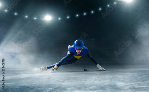 Fotografie, Obraz Short track speed skating