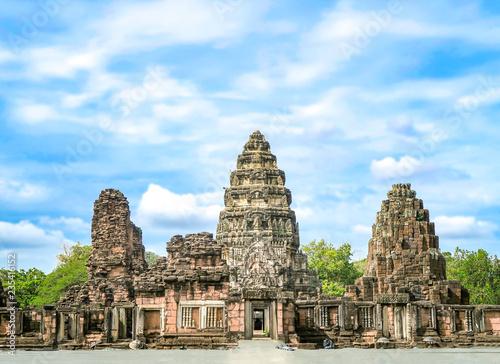 Türaufkleber Altes Gebaude 8 NOVEMBER 2018, NAKHON RATCHASIMA PROVINCE, THAILAND: Phimai historical park, (Prasat Hin Pimai) in Nakhon ratchasima, Thailand